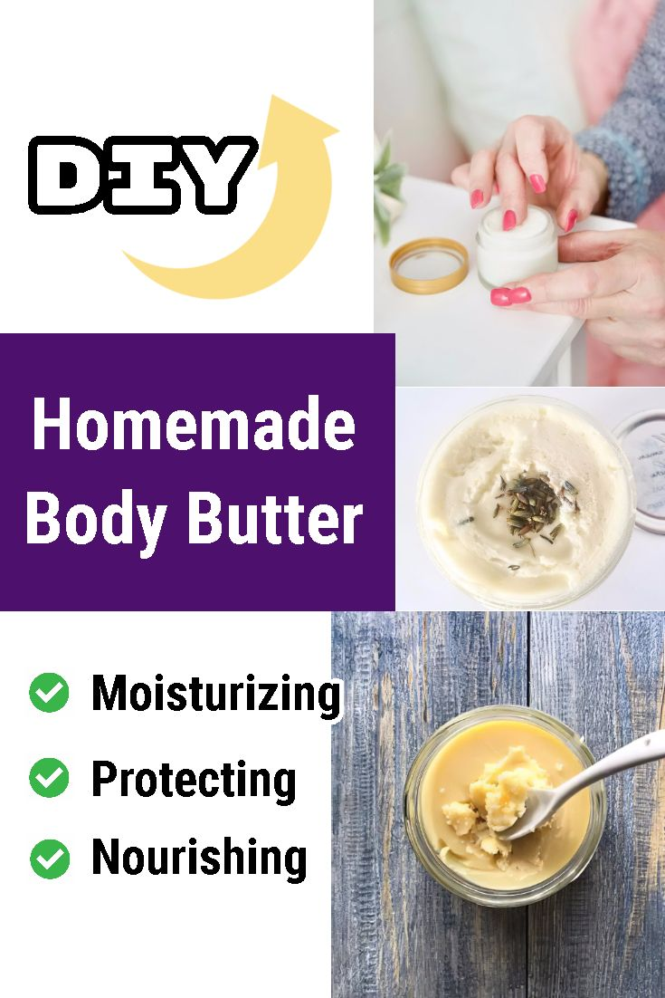 Homemade nongreasy body butter recipes body butters