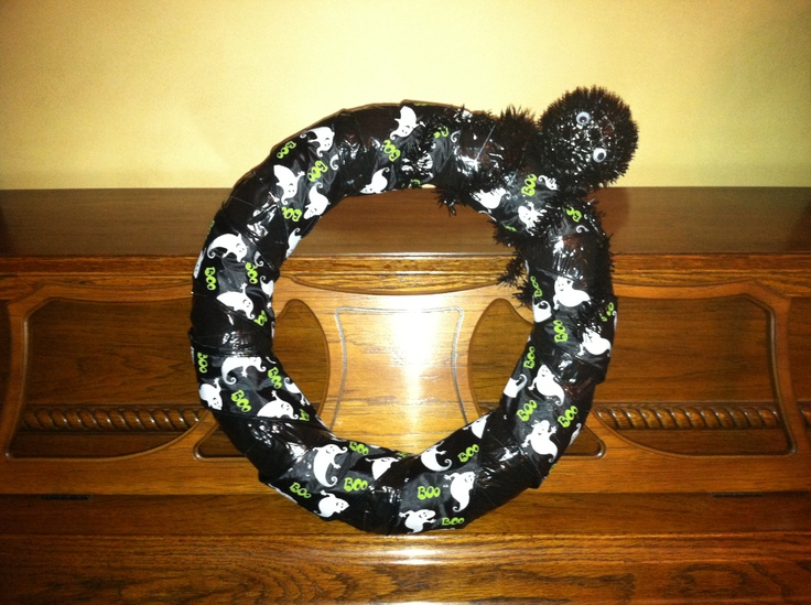 45 Best Duct Tape Wreath Images On Pinterest Duck Tape