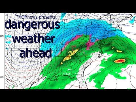 Drive Safe! Wild Weather Ahead! Plan your Travel accordingly. - YouTube