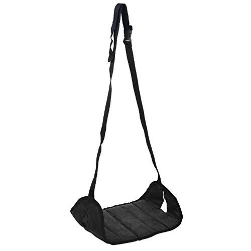 Airplane FootrestCarBoss Portable Footrest Flight Carryon Adjustable Soft and Comfortable Stand Foot Rest Feet Hammock for Plane Train Home and Office Travel Accessories *** You can get additional details at the image link. Amazon Affiliate Program's Ads.