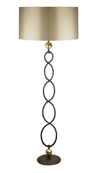 Buy amara metal floor lamp by villaverde london made to order designer lighting from dering halls collection of contemporary industrial traditional