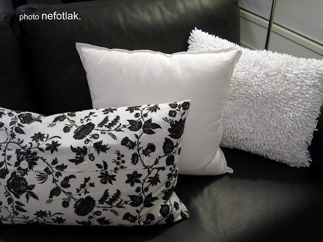 hand sewn bathmat pillows diy