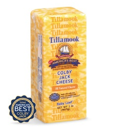 Tillamook: Colby Jack Cheese - gluten free - soy free