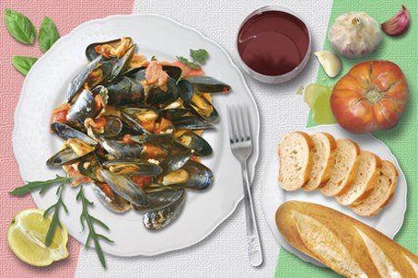 Mit diesem Rezept für Cozze alla marinara holen Sie sich den Urlaub am Meer nach Hause.