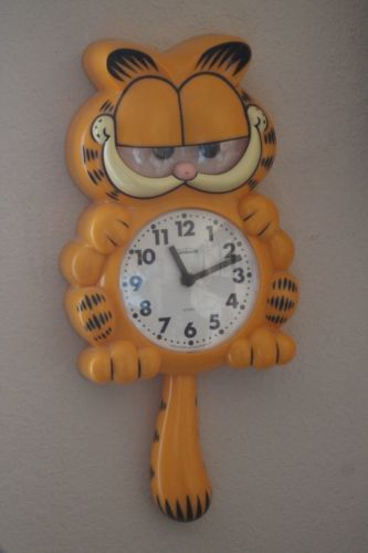 Vintage Sunbeam Garfield Wall Clock Vintage Clock And