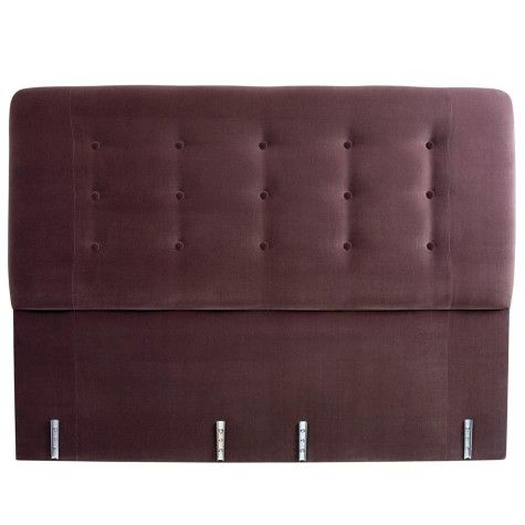 Vi-Spring Achilles Headboard - Upholstered Finish - By Type - Headboards | AND SO TO BED