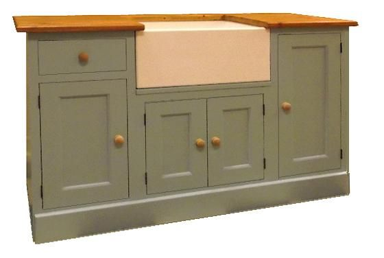 belfast sink unit hand painted in Northampton