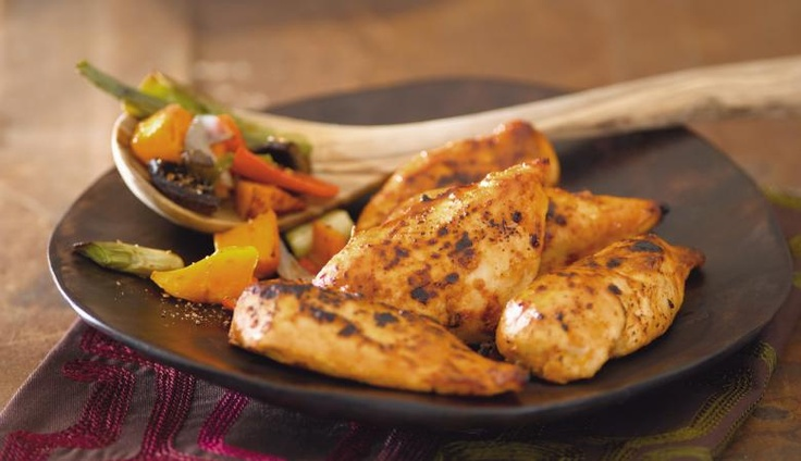 Cheeky-Chilli Marinated Chicken Breasts