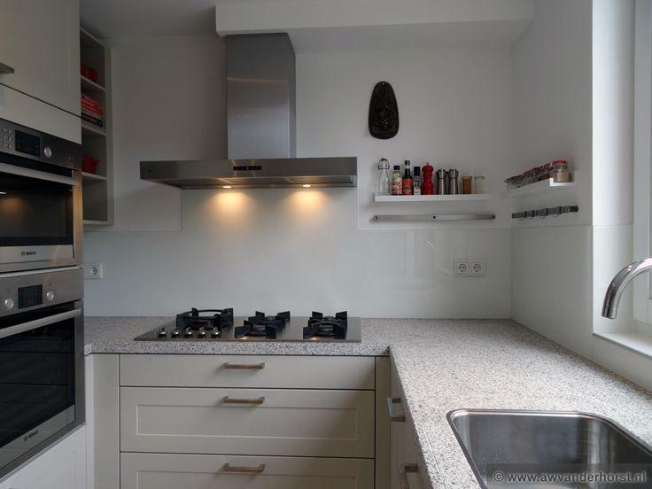10 beste afbeeldingen van keukenachterwanden - Credence keuken wit ...