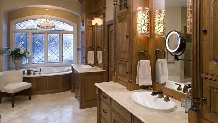 Luxury Master Bathroom In North Oaks Mn Bathroom