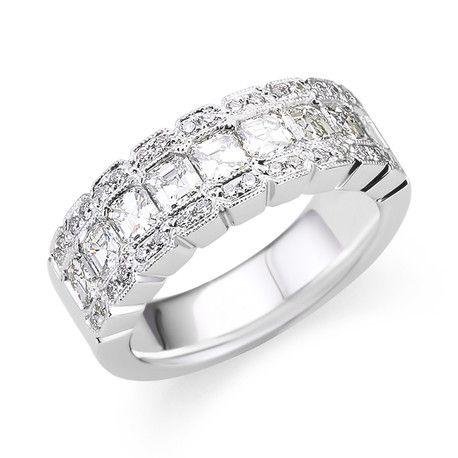 Stunning Wedding Anniversary Ring D4120wg Andrews Jewelers Buffalo