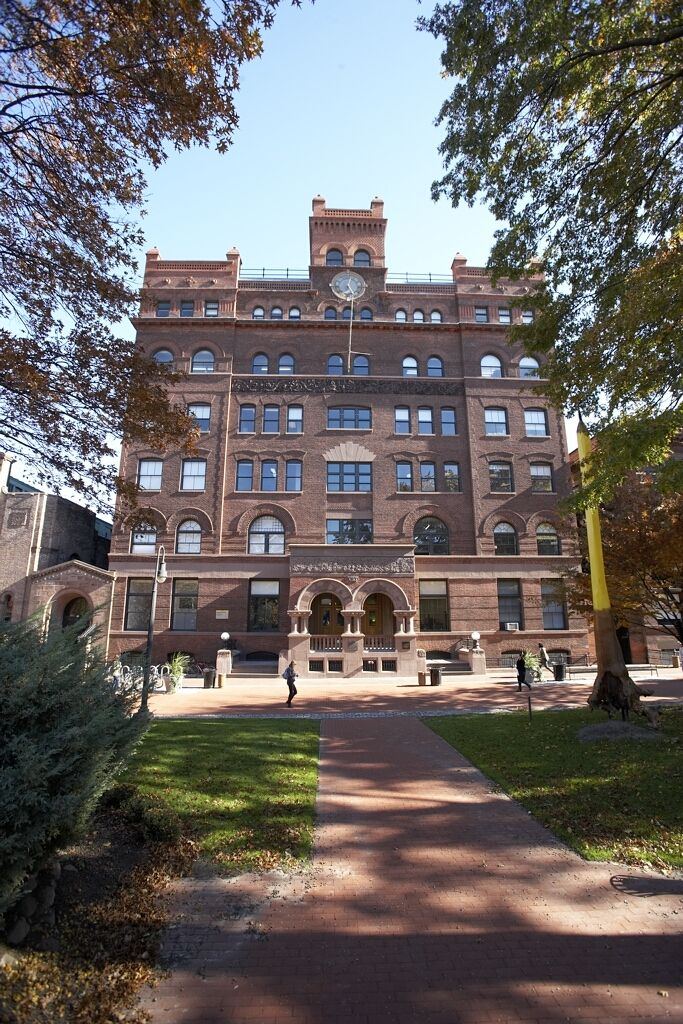 Pratt Institute - Main Building. Brooklyn campus.     http://pinterest.com/pin/33636328437238496/