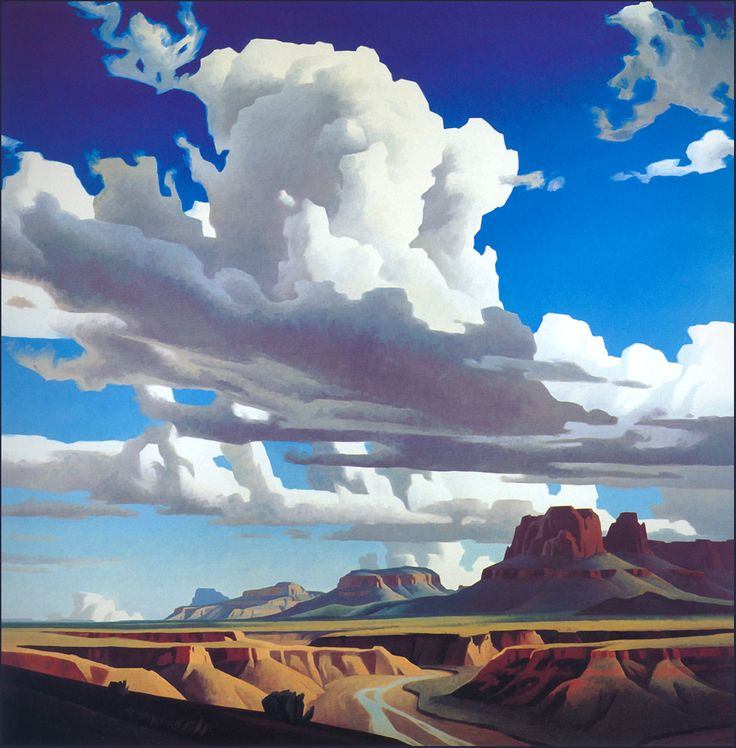 Ed Mell - Chinle Wash (I think) http://sun.youinside.me/picture/i126/6ef14e6637f661ff69df46a7cd2e0322.jpg