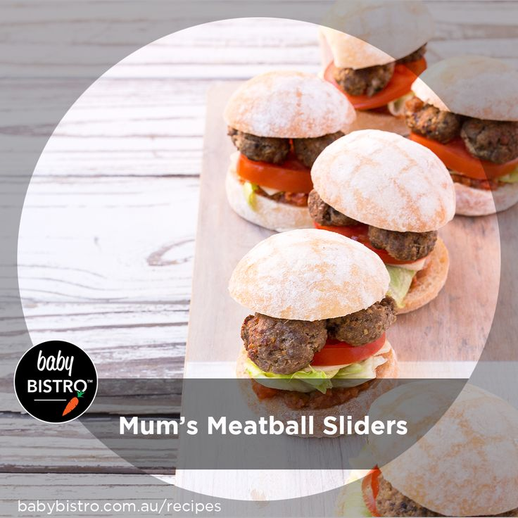 Healthy sliders – yes please! With the help of our veggie packed Ratatouille and Mum Meatballs this is such a fresh and healthy lunch or dinner that the whole family will rave about. You can get the kids to help layer up the sliders or just prep everything and create a banquet of toppings for everyone to help themselves.