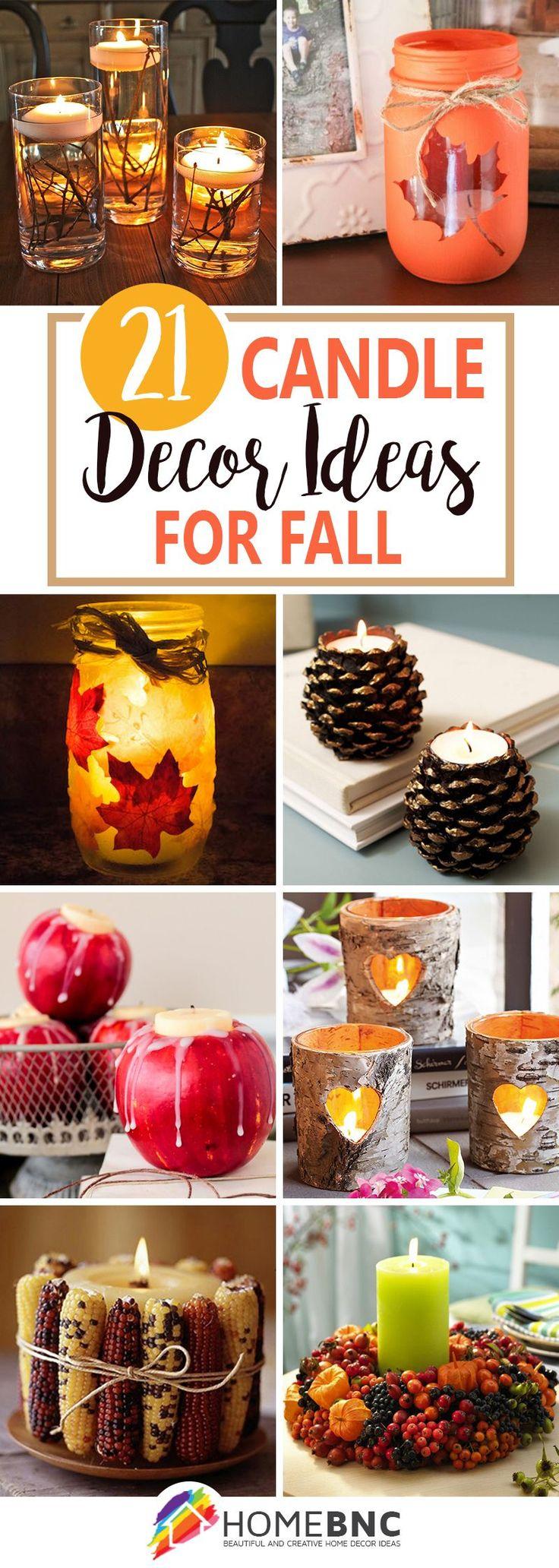 Best 25+ Fall candles ideas on Pinterest | Pumpkin candles, Dollar ...