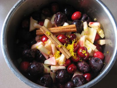 Cranberry Cherry Apple Sauce - Recipes to Nourishhttp://www.recipestonourish.com/2012/11/cranberry-cherry-apple-sauce.html
