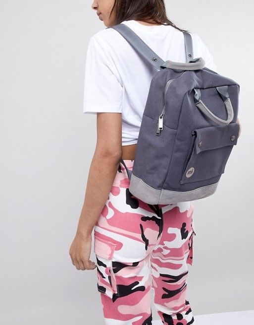 8f3a2f66c17 Mi-Pac Tote Backpack in Charcoal | clothing inspiration | Tote ...
