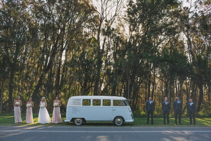 Kombi wedding car