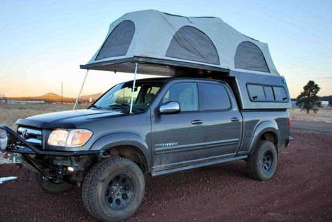 Camper shell made to fit various standard size truck beds | Gone ...