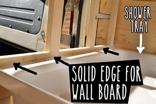 Diy Camper Van Bathroom With Shower Step By Step