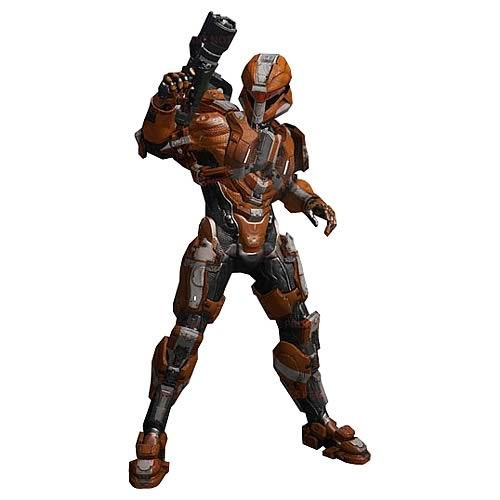 Halo 4 Series 2 Spartan Scout Team Orange Action Figure - McFarlane Toys - Halo - Action Figures at Entertainment Earth