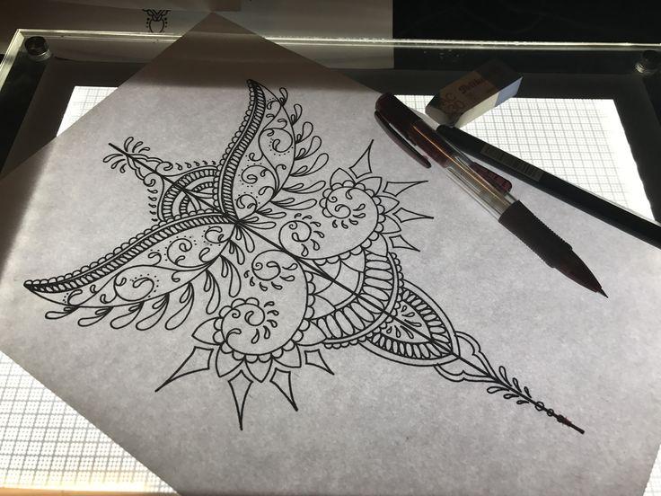 Ornamental back