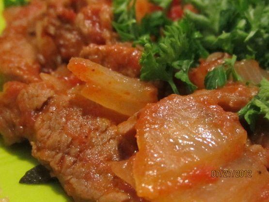 Portuguese Beef And Onions Bifes De Cebolada) Recipe - Food.com