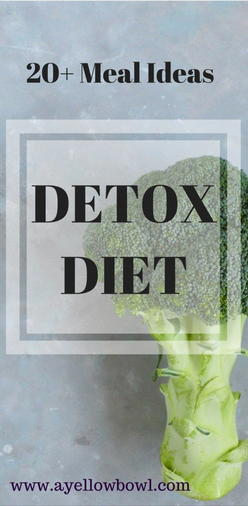 20 plus Meals for Detox Diet - lose the weight you gained over the holidays by doing a detox diet. 7 or 14 days, or even longer, your choice. Find easy and healthy recipes here.