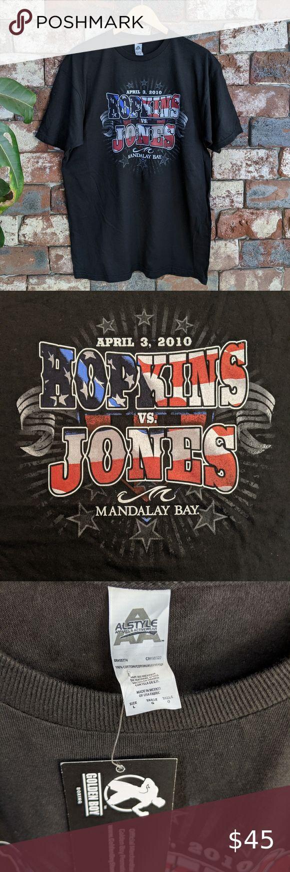 Nwt Hopkins V Jones Boxing T Shirt Boxing T Shirts T Shirt Shirts