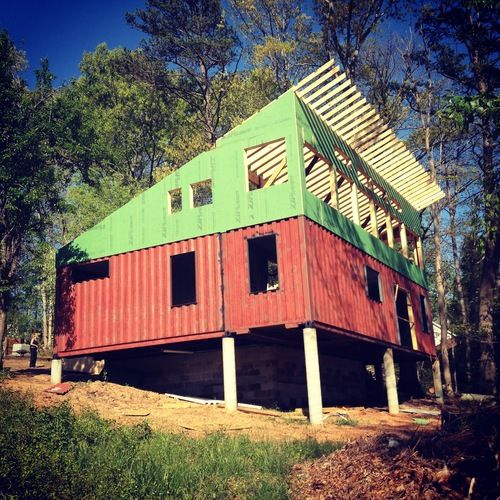 301 best container homes images on pinterest shipping containers architecture and shipping - Shipping container homes el tiemblo spain ...