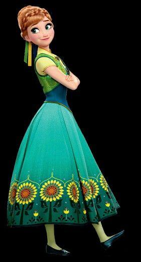Frozen Fever Anna