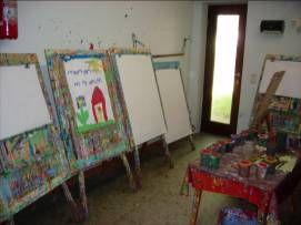 Praktikum im Fröbel Kindergarten Kunst mit Kindern
