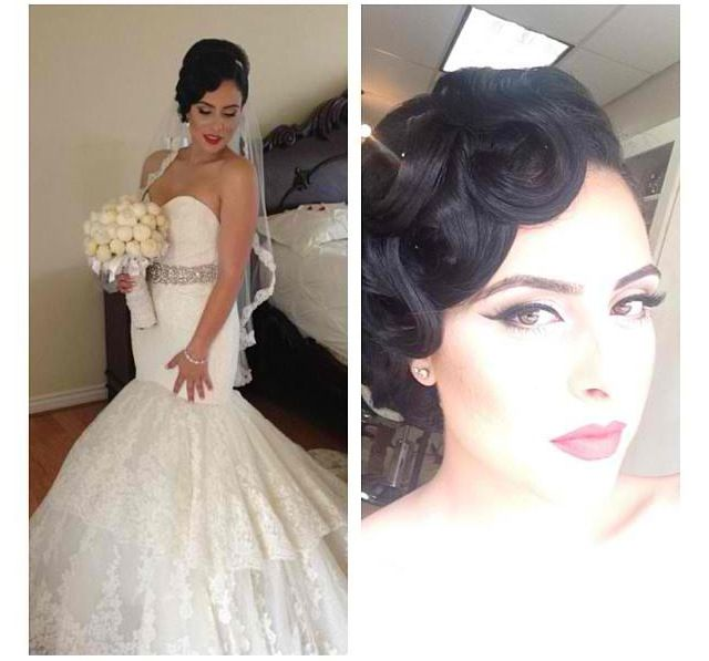 Glam Bridal Makeup : 17 Best images about Bridal Beauty on Pinterest Gatsby ...