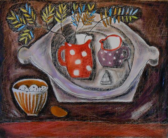 Exhibitions -Susan Gathercole - New Paintings- Martin Tinney Gallery - Annie Greenwood's Bowl