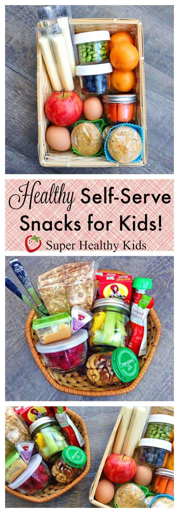 Super Healthy Kids Favorites: How to Make a Self-Serve Snack Box for Kids