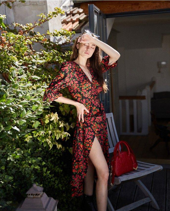caf6379f60e386 ROBE LONGUE PRINT CAMELIA ROSE - Dresses WOMAN