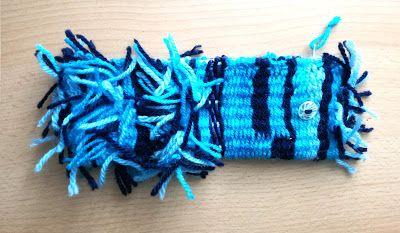 Jo Fashion - blogger: Κασετίνα από χειροποίητο ύφασμα φτιαγμένο με νήμα ...