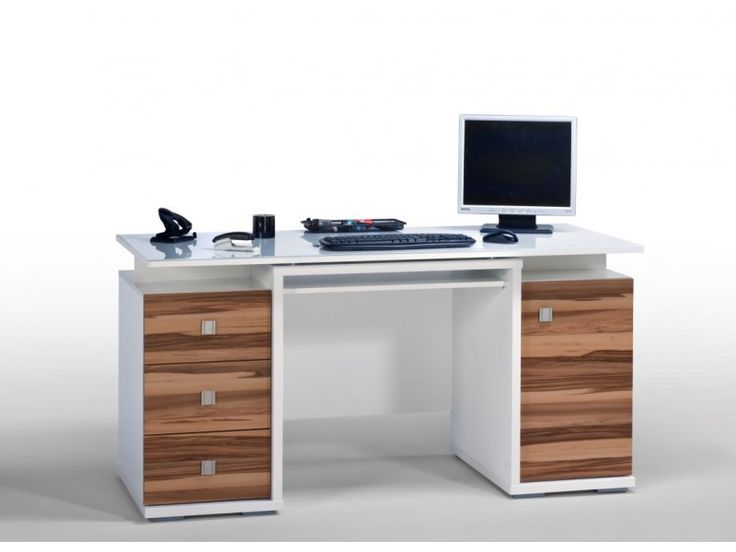 Best Computer Desk Images On Pinterest Computer Desks Desk - Desks incorporate recessed computer technology