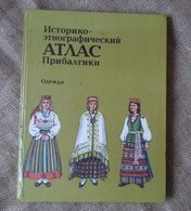 Latvia Riga 1986 Old Book illustrated Historical & Ethnographic Atlas of the Baltic States Traditional Costumes Clothes | For sale on Delcampe
