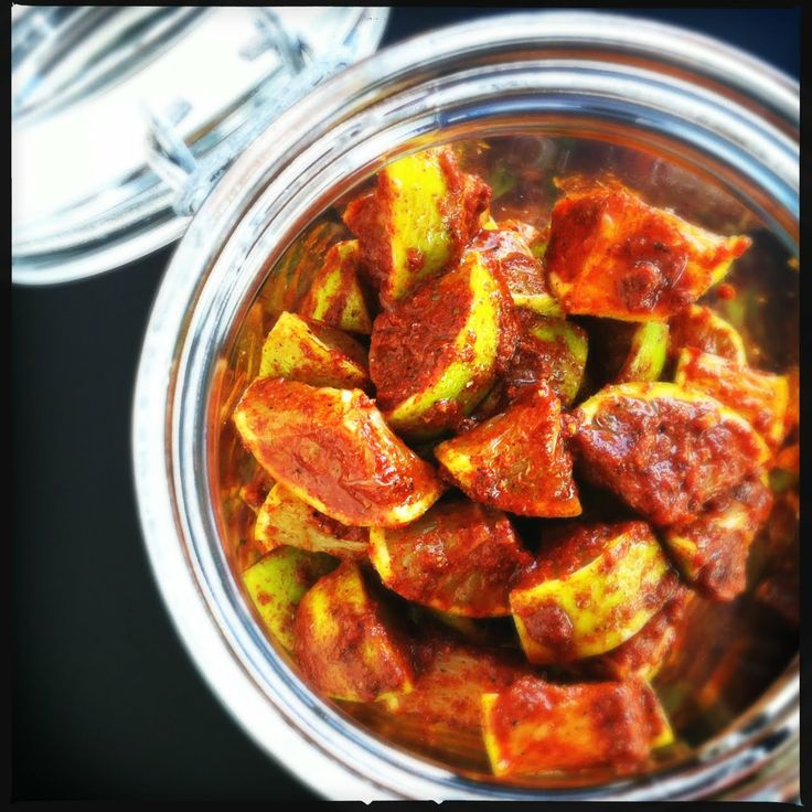 hungry tigress » north indian lime pickle: