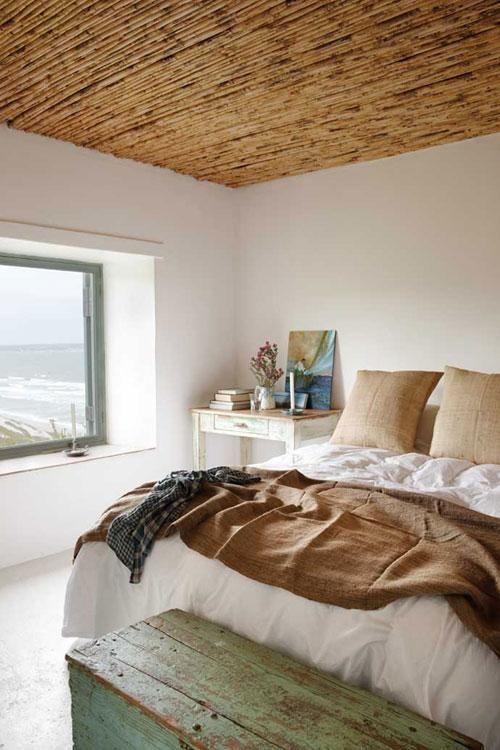 Una casa rústica en la playa de Sudáfrica