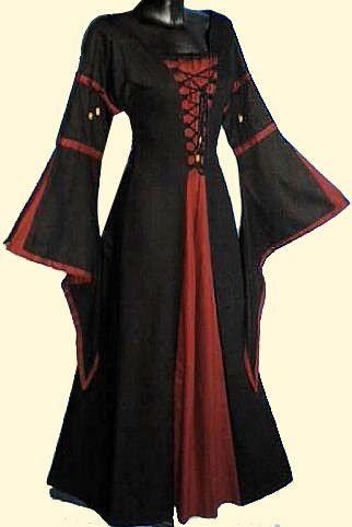 Deze katoenen middeleeuwse jurk wil ik ECHT heel graag!