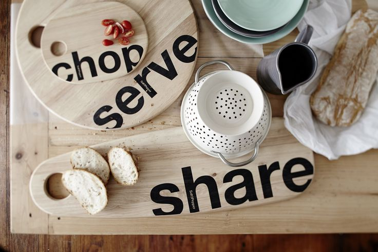 Simple enough for everyday use, and bold enough to make an impression. Salt&Pepper's Serve Chop Share board range combines a modern simplicity with the timeless, organic beauty of wood. A range designed to fit perfectly with your decor. #Retreat #Spring