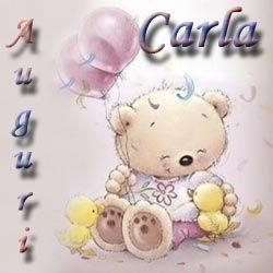 Immagini con nome onomastico Carla