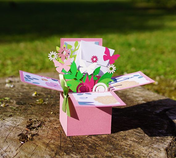 3D pop-up carte/greating cards/compleanno carte/regalo