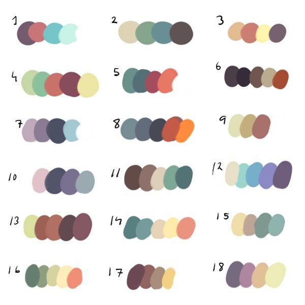 FreeToUse - Colour Palette! by dexikon on deviantART