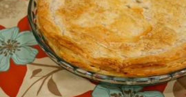 Thermomix Chicken + Vegetable Pie with Puff Pastry