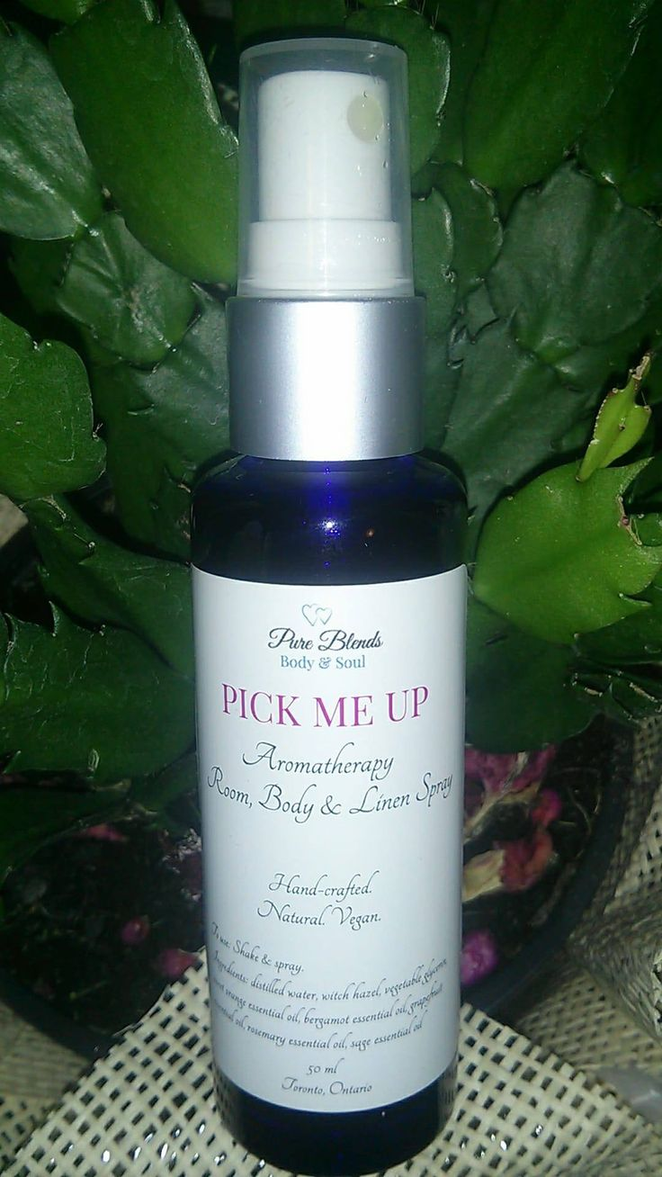 Pick Me Up Aromatherapy Room, Linen & Body Spray