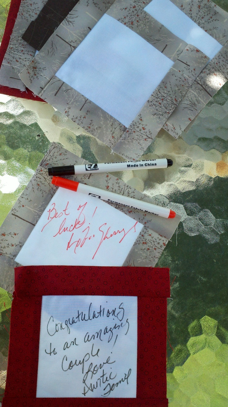 Deposit on a Signature Guest Book Quilt Great by plumcozycottage
