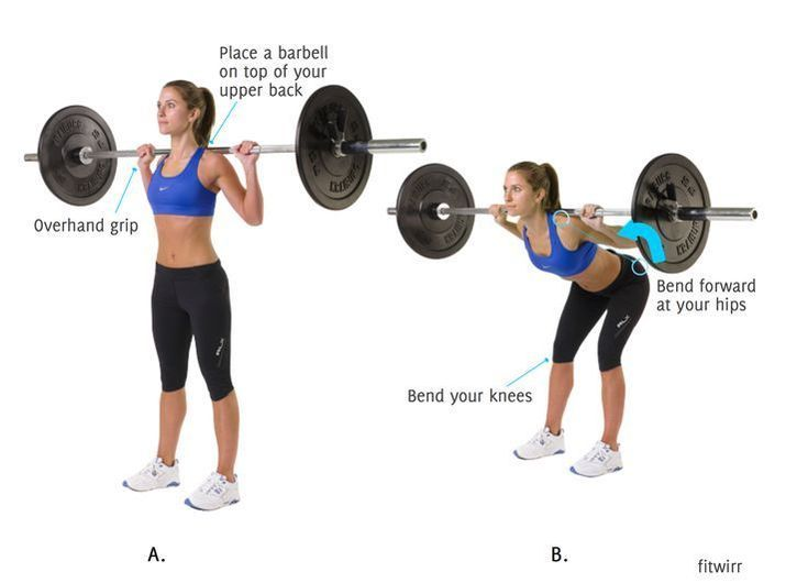 How to Perform the Good Morning Exercise With a Barbell